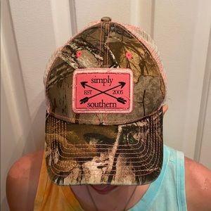 🎀 SS Pink & Camo Trucker Hat 💕